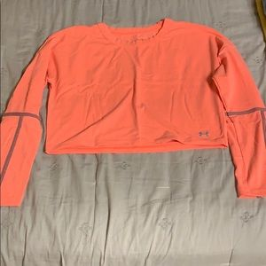 Under Armour cropped long sleeve